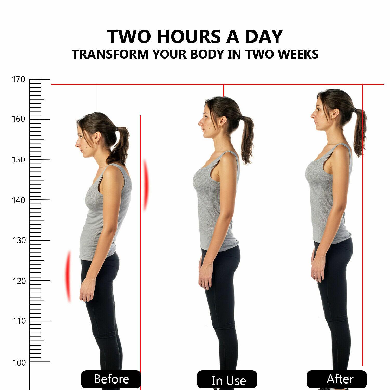 For Men Women Kids Posture Corrector Support Back Shoulder Brace Belt Adjustable Health & Beauty
