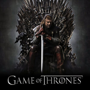 séries -- Walking Dead, X-Files, Game of Thrones