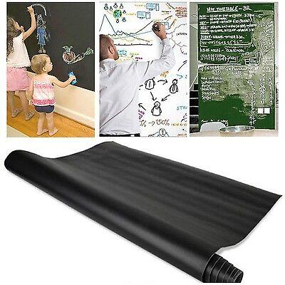 Blackboard Removable Vinyl Wall Sticker Chalkboard Decal Chalk Board