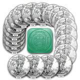 SPECIAL PRICE! 1 oz Silver American Eagle BU Random Year (Lot, Roll, Tube of 20)