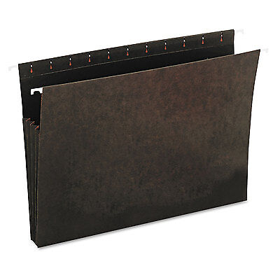 Universal Hanging Box Bottom File Pockets 11 Point Stock Letter Standard Green
