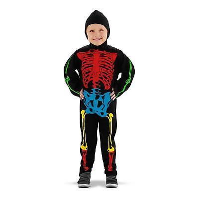Skelett Kostüm Gr. 98 104 110  Kinder - Skelett Kostüm Mädchen