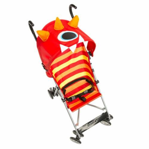 Cosco Red Yellow Umbrella Baby Kid Stroller Unisex, Monster Elliot (Open Box)