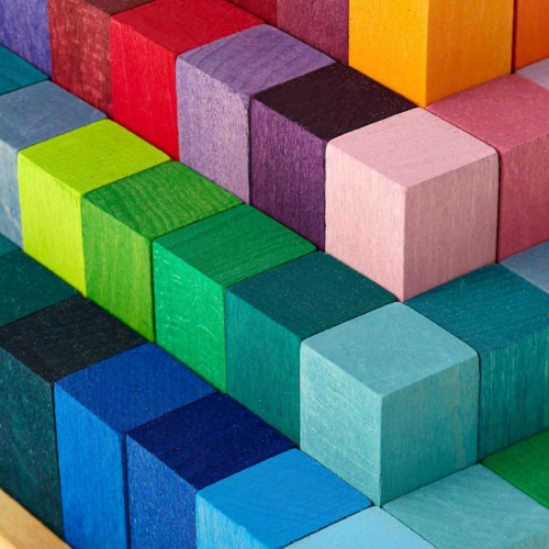 FunEdu Upgraded 100-piece Magnetic Tiles Building Blocks Toy Set Deluxe Super