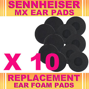 10-Replacement-Ear-Phone-Foam-Pad-Sponge-Sennheiser-MX