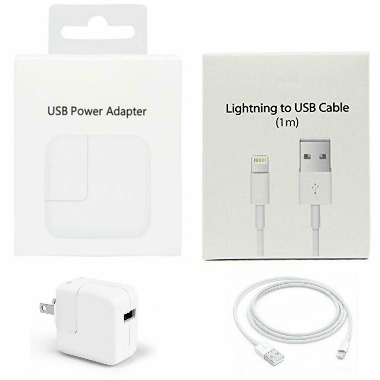 oem 12w usb wall charger with apple