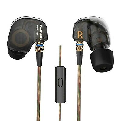 Kz ATE Copper Driver Ear Hook Hifi in Ear Earphone Sport Hea