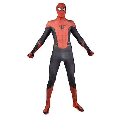 Spider-Man: Far From Home Cosplay Costume Men Halloween Birthday Party Bodysuit](Halloween Party Costumes For Men)