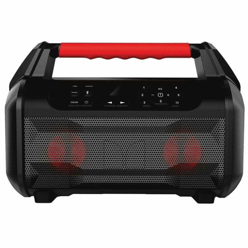 Monster MNSTRM-BLK2 Roam 2 Portable Waterproof Bluetooth Speaker