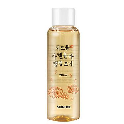 SIDMOOL Calendula Ampoule Toner Alcohol Free Hydrating 92% Extract Korean