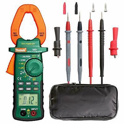 Tester Dc Voltage Rms Amp True Test Clamp Digital Meter Ac Multimeter