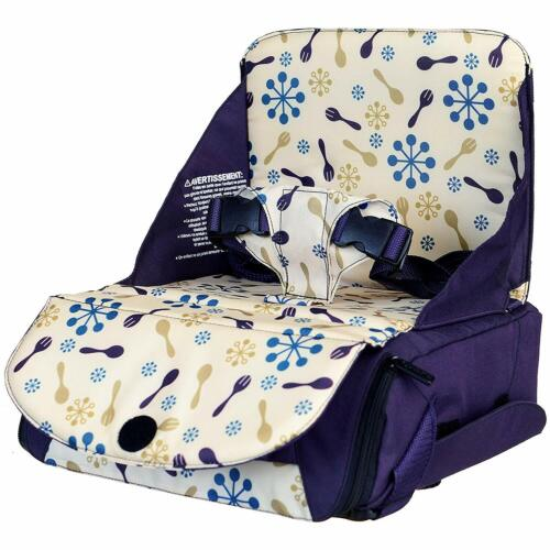 Munchkin Travel Child Booster Seat - Purple.Portable