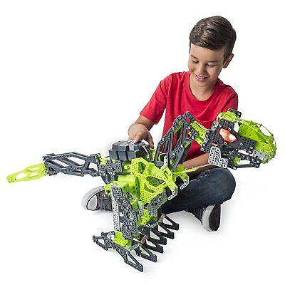 Meccano Meccasaur Erector Robot Dinosaur Building Set  T Rex Playset Kids Toy