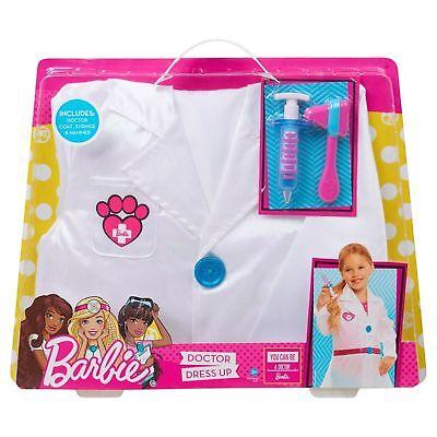 Barbie Dress Up Doctor Lab Coat Set - Occupation Playset