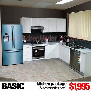 COMPLETE NEW KITCHEN WITH GLOSS BENCHTOP - 3 Colours, 33 Designs Blacktown Blacktown Area Preview
