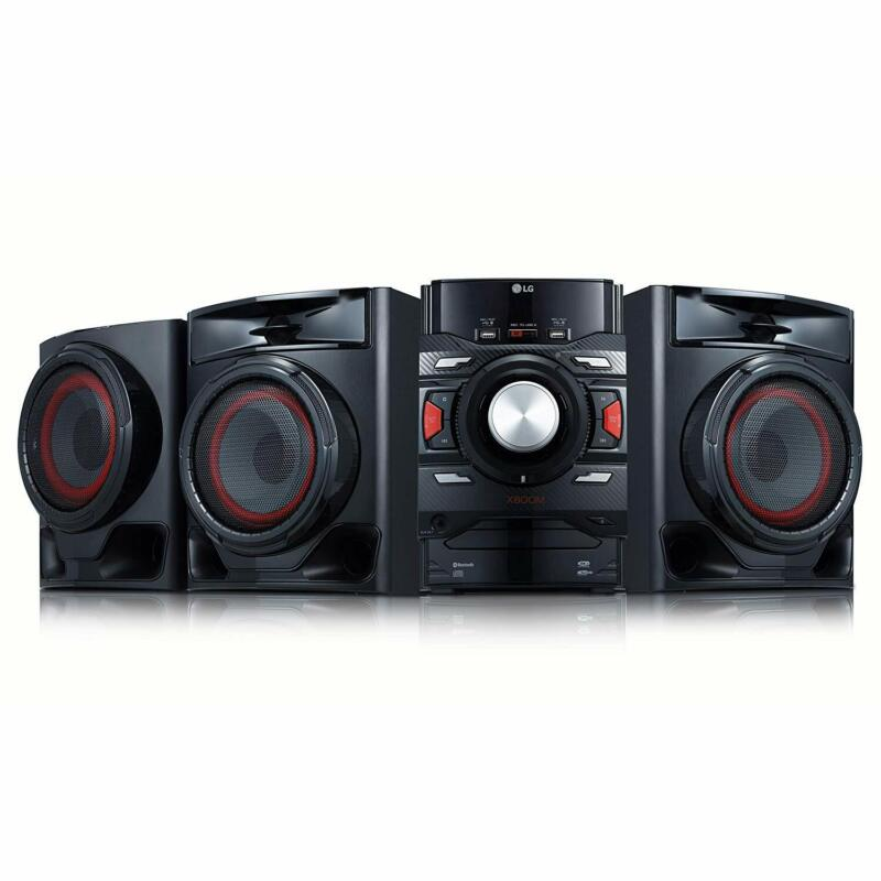 LG XBOOM Bluetooth 2.1-Channel Music System w/  Built-In CD Player & FM Radio