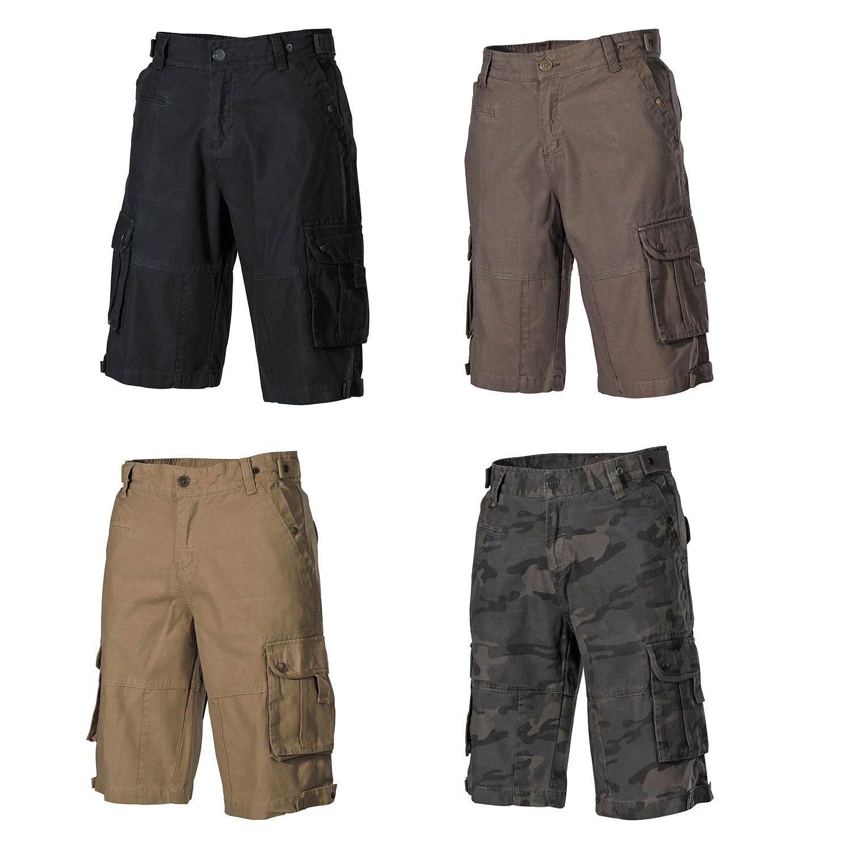 US Army BW Bermuda Shorts Spirit Cargo Pant Casual Pantaloni Corti CAMO
