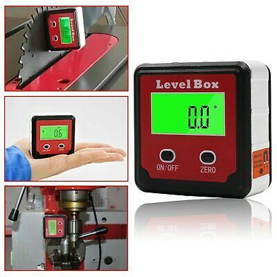 Digital Level Box Magnetic Angle Finder Protractor Bevel Saw Gauge Inclinometer