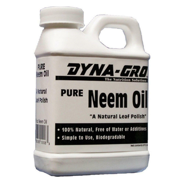 Dyna Gro Pure Neem Oil Natural Leaf Polish 8 Ounces Ebay