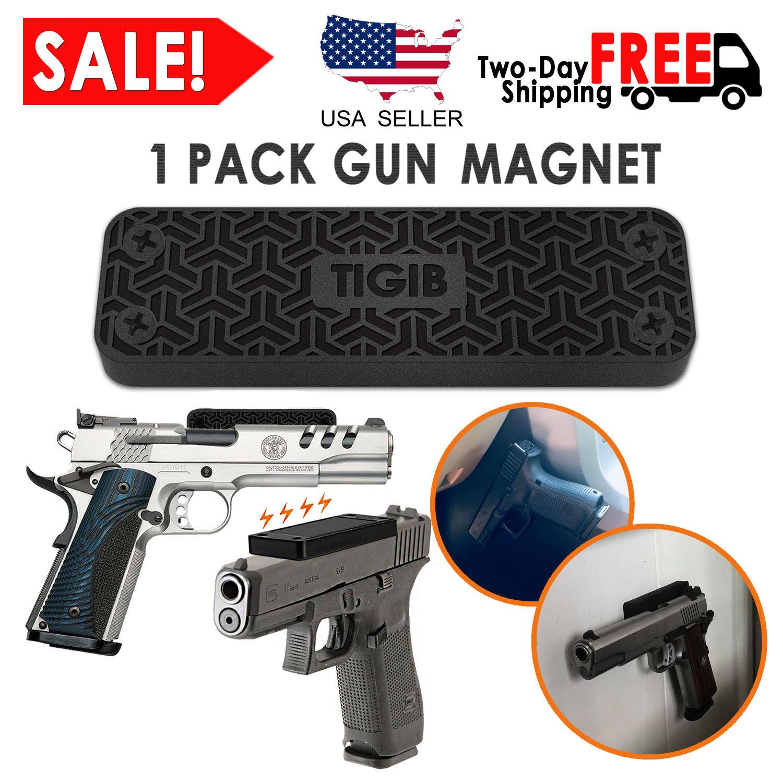 Gun Magnet Mount 43 lbs Pistol Rifle Magnetic Holder Car Hol