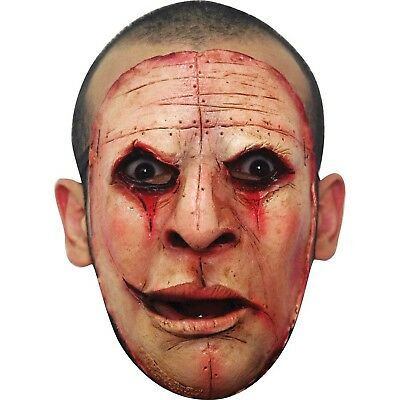 Adult Men's Teen Serial Killer Realistic Scary Latex Halloween Costume Face Mask