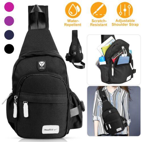 Men Women Nylon Crossbody Shoulder Chest Cycle Sling Bag Dai