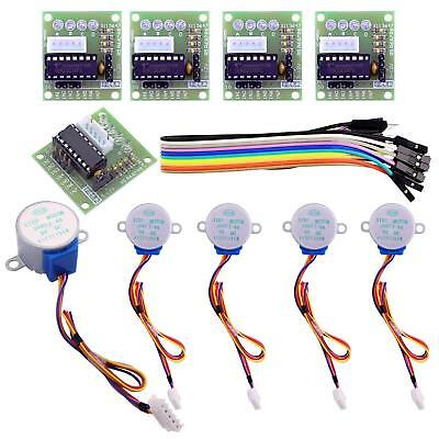 5v 4-phase Geared Stepper Motor With Uln2003 Driver Board 28byj-48 For Arduino