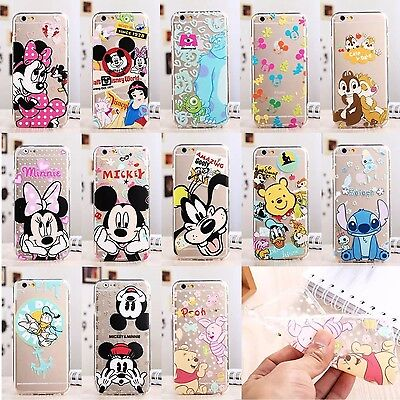 NEW Disney Cartoon Case Cover For Apple iPhone Samsung Models C0009