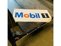 Mobil 1 Racing Oil 3x5 ft Flag Banner Car Racing Performance