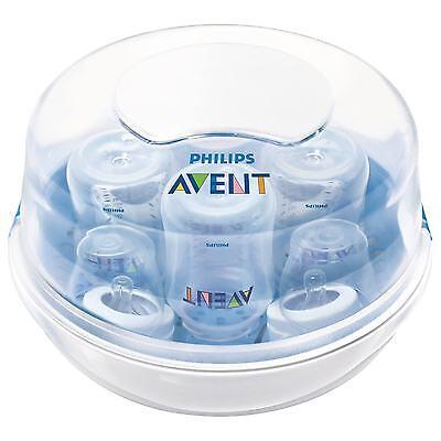 Philips Avent vapor de microondas botella Esterilizador para bebé Biberones