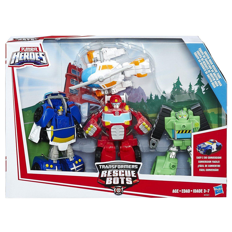 Playskool Heroes Rescue Bots Griffin Rock Rescue Team, 4
