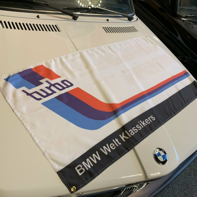 BMW 2002 Turbo Banner 5.0 e36 2.5l v8 i6 mtek lemans e39 M5 ROADSTER RACING FLAG