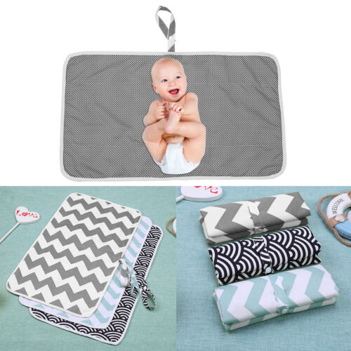 Portable Baby Diaper Pad Changing Cover Urine Mat Nappy Bag Foldable Waterproof