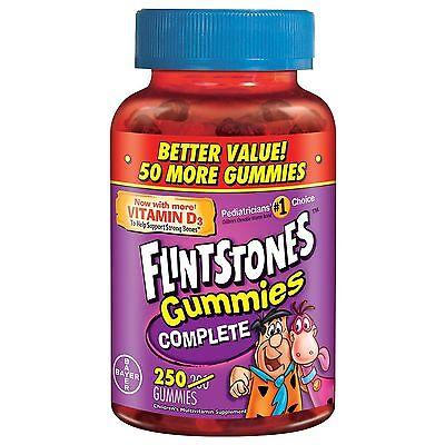 Flintstones Complete Childrens Gummies Multivitamin 250 C...