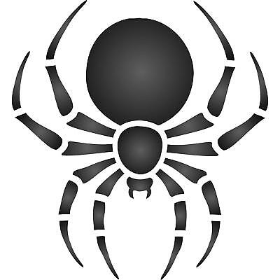 Halloween Spider Stencil Reusable Wall Painting Template Furniture Fabric Wood](Halloween Spider Stencil)