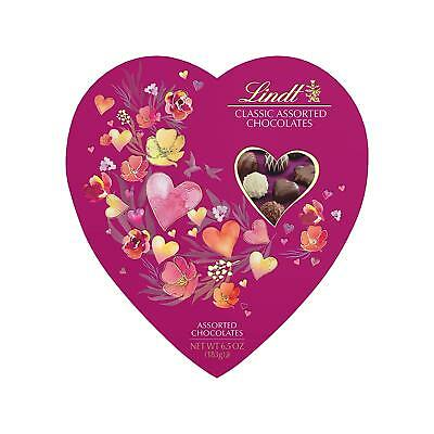 Valentine Lindts Classic Heart Gift Box 6.5 Ounce, Master Swiss Chocolatier](Heart Valentine)
