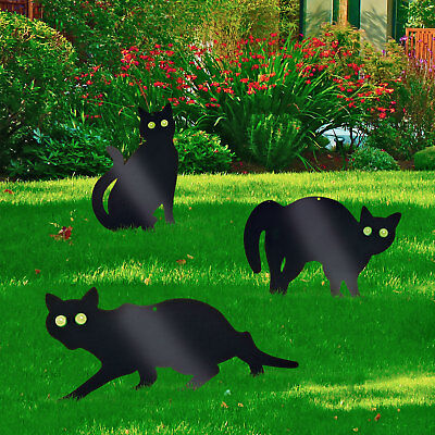 3 PACK GARDEN SCARE CAT PEST DETERRENT REPELLENT SCARER NUISANCE CONTROL FOX NEW