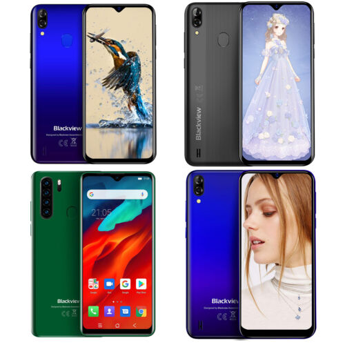 Blackview A60 Pro A80 Pro Smartphone 16GB 64GB Dual SIM Android 9.0 Handy 13MP