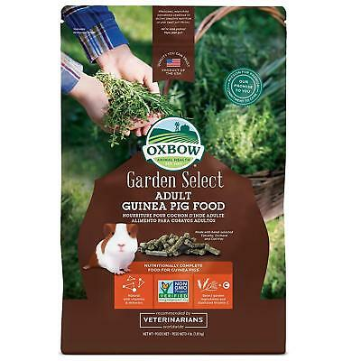 (Oxbow Garden Select Fortified Food for Guinea Pigs net weight 4 lbs)