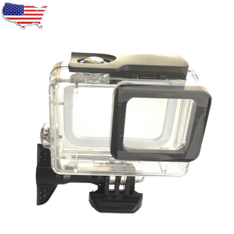Waterproof Housing Case For GoPro Hero 7 Black/6/5 Protective Shell with Bracket