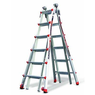Little Giant 12026 26-foot Multi-use Ladder 300lb Capacity