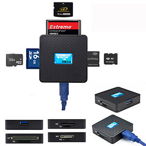 High-Speed-USB-3-0-All-in-1-SD-TF-CF-XD-M2-MS-Flash-Memory-Card-Reader-Adapter