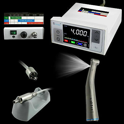 NSK Type Dental Electric Motor &1:1 Fiber Optic Handpiece Low Speed Contra Angle Business & Industrial