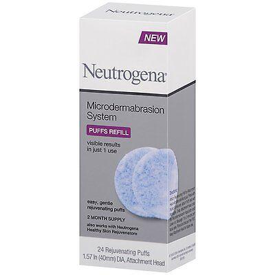 Neutrogena Microdermabrasion System 24 Puffs Refill
