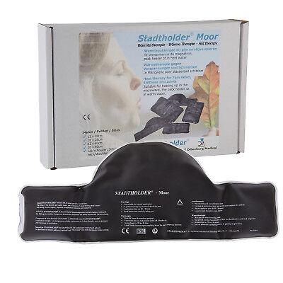 Wiederverwendbare Moorpackung Nacken- Schulter für Mikrowelle und Wasserbad