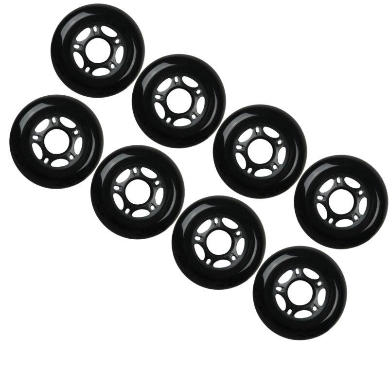Outdoor Rollerblade Inline Hockey Fitness Skate Wheels 80mm 82A Set of 8