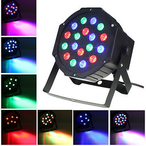 Led uplighting stage lighting effects ebay for Par led exterieur
