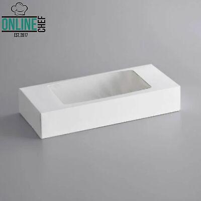 12 12 X 5 12 X 2 14 White Auto Popup Window Cookie Bakery Box 200 Case