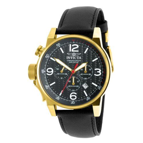 Invicta 20135SYB Men's I-Force Gold-Tone Quartz Watch