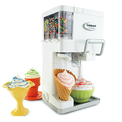 Automatic Ice Cream Maker Machine Electric Dessert Frozen Fruit Sorbet Snow New